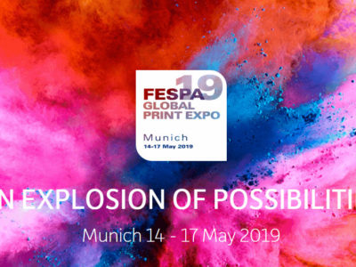 Find us at FESPA Global Print Expo 2019